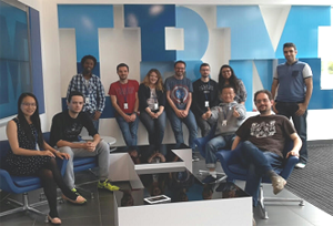 Student interns at IBM Research - Dublin Lab