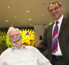 Heinrich Rohrer and Gerd Binnig