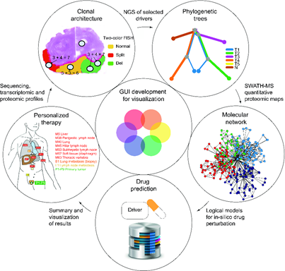 Computational methods for cancer personalized medicine