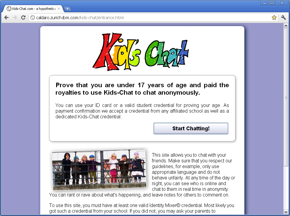 Kids' Chat screenshot 1