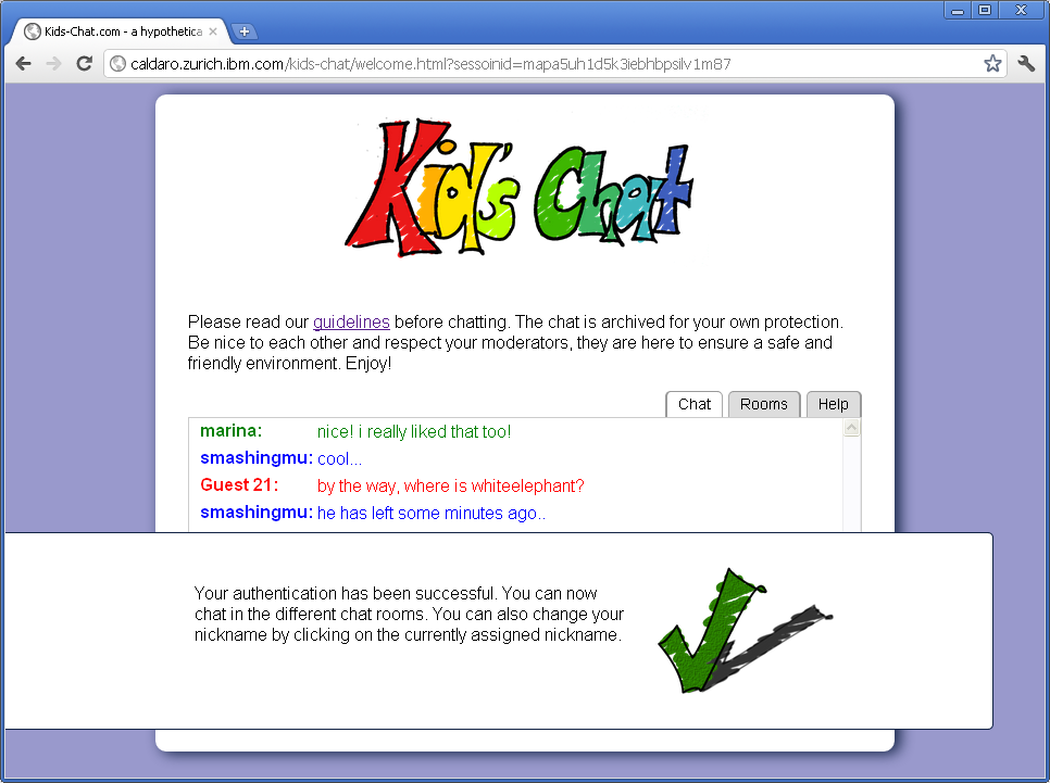 Kids' Chat screenshot 8